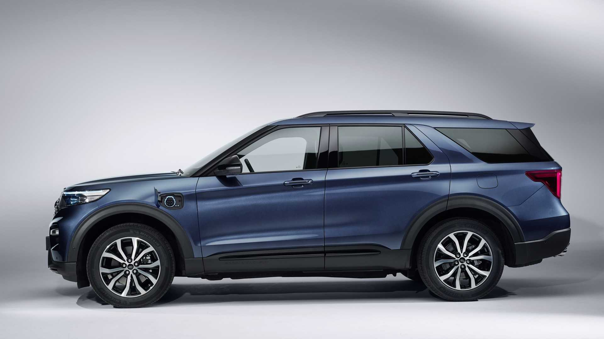 2019 Ford Explorer Plug-In Hybrid (Euro-Spec) Side Wallpapers (5)