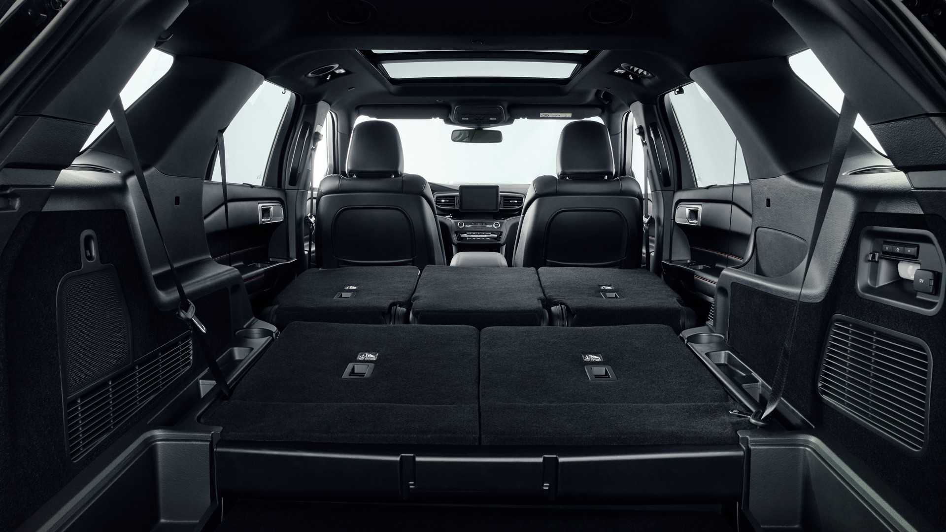 2019 Ford Explorer Plug-In Hybrid (Euro-Spec) Trunk Wallpapers (12)