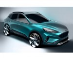 2019 Ford Kuga Design Sketch Wallpapers 150x120 (23)