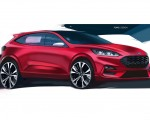 2019 Ford Kuga Design Sketch Wallpapers 150x120 (19)