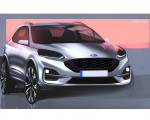2019 Ford Kuga Design Sketch Wallpapers 150x120 (25)
