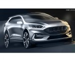 2019 Ford Kuga Design Sketch Wallpapers 150x120 (17)