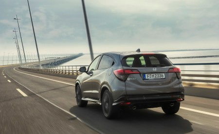 2019 Honda HR-V Rear Three-Quarter Wallpaper 450x275 (11)