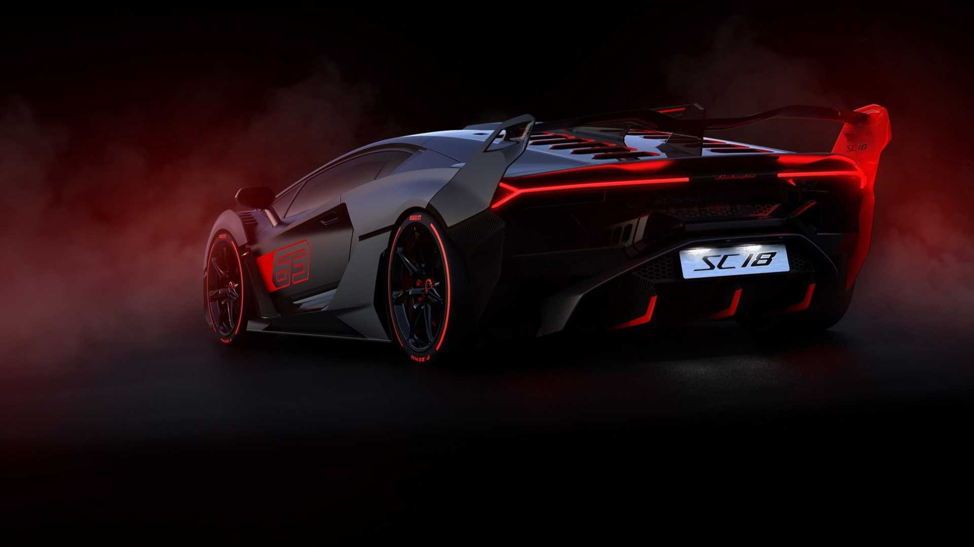2019 Lamborghini SC18 Alston Rear Three-Quarter Wallpapers (12)