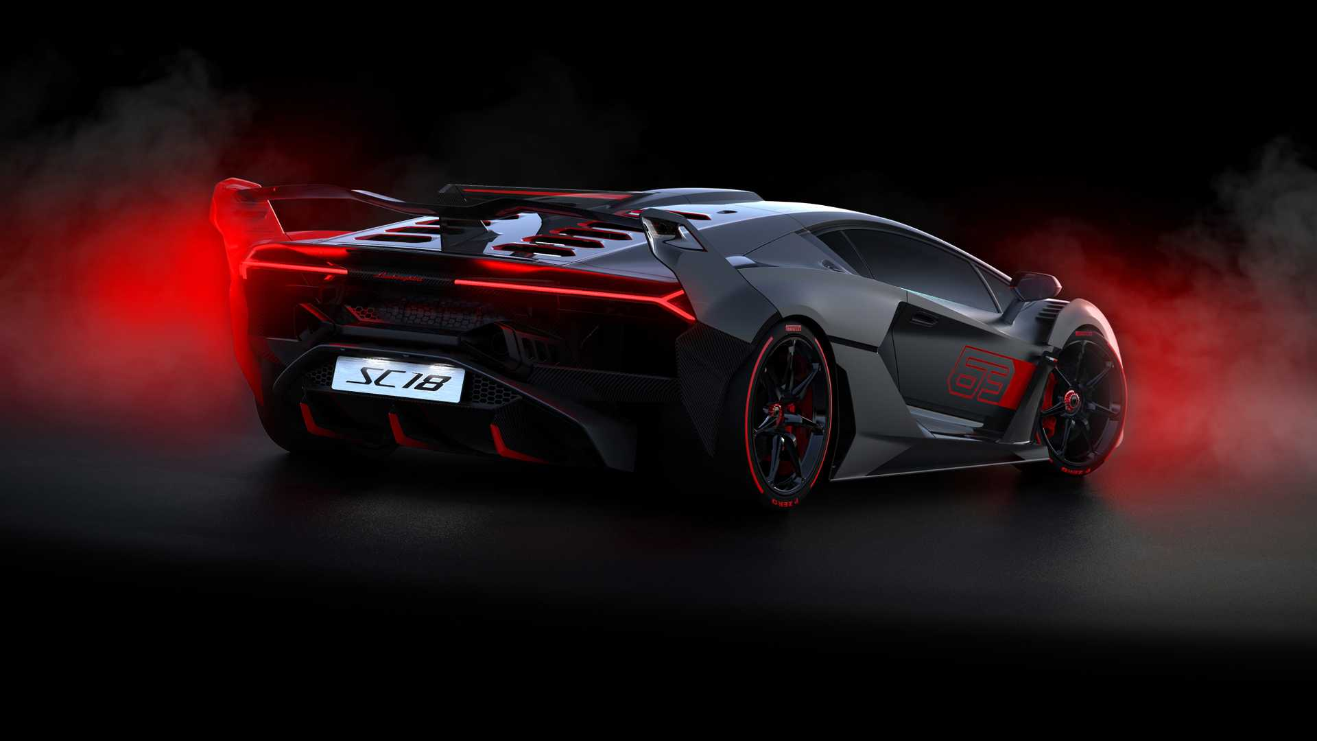 2019 Lamborghini SC18 Alston Rear Three-Quarter Wallpapers (7)