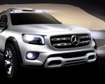 2019 Mercedes-Benz GLB Concept Design Sketch Wallpaper 150x120 (21)