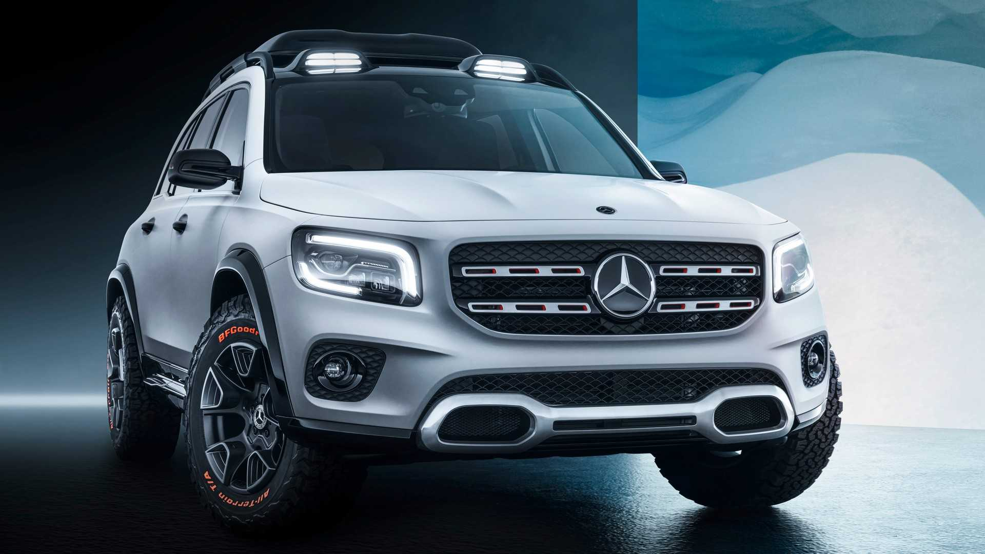 2019 Mercedes-Benz GLB Concept Front Wallpaper (4)