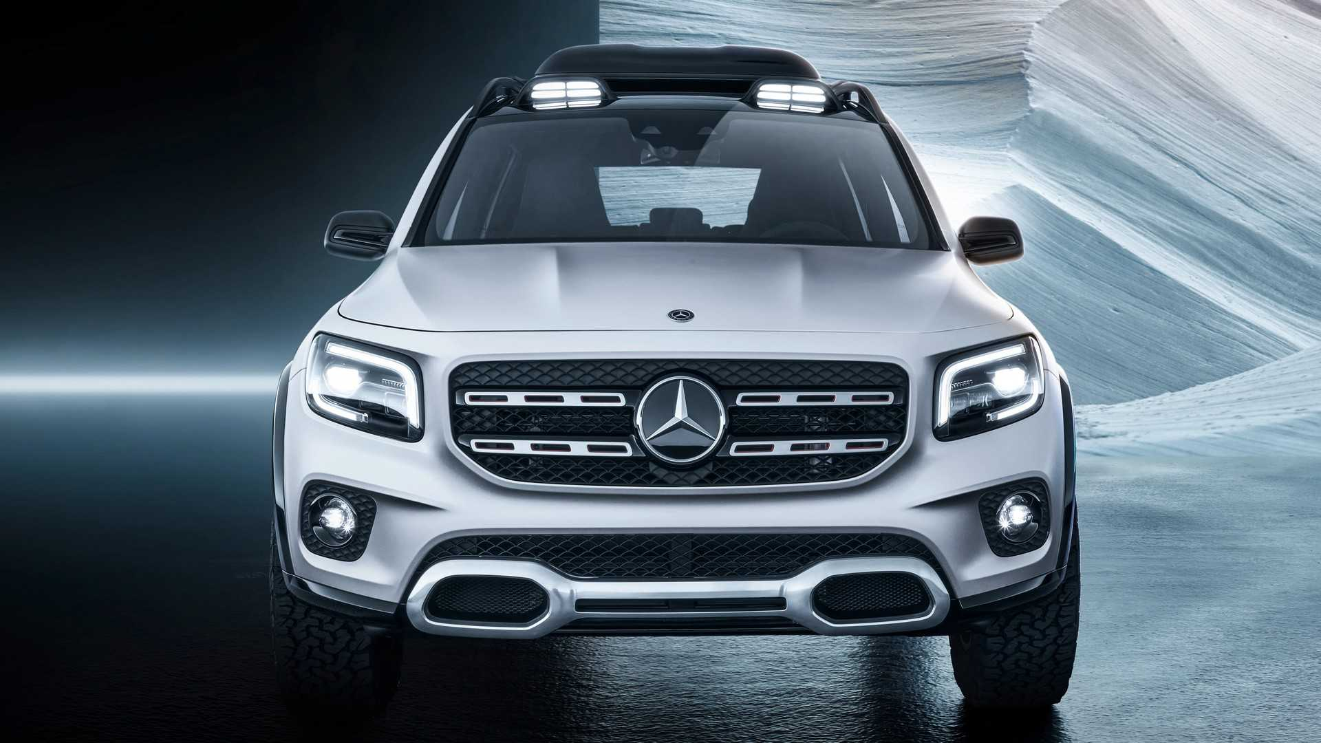 2019 Mercedes-Benz GLB Concept Front Wallpaper (5)