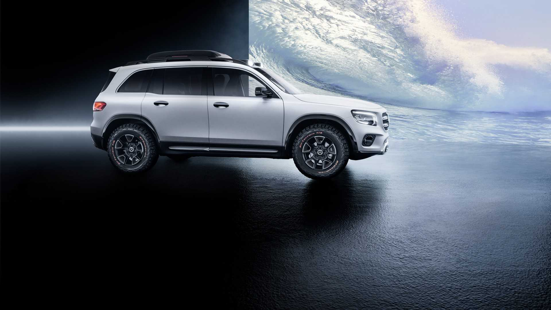 2019 Mercedes-Benz GLB Concept Side Wallpaper (11)