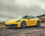 2019 Porsche 911 (992) Carrera 4S (UK-Spec) Front Three-Quarter Wallpaper 150x120 (14)