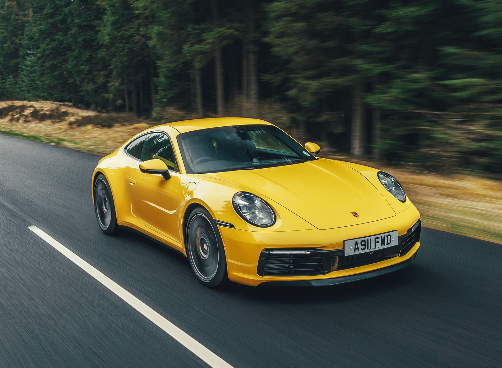 2019 Porsche 911 (992) Carrera 4S (UK-Spec) Front Three-Quarter Wallpaper (3)