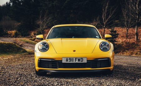 2019 Porsche 911 (992) Carrera 4S (UK-Spec) Front Wallpaper 450x275 (15)