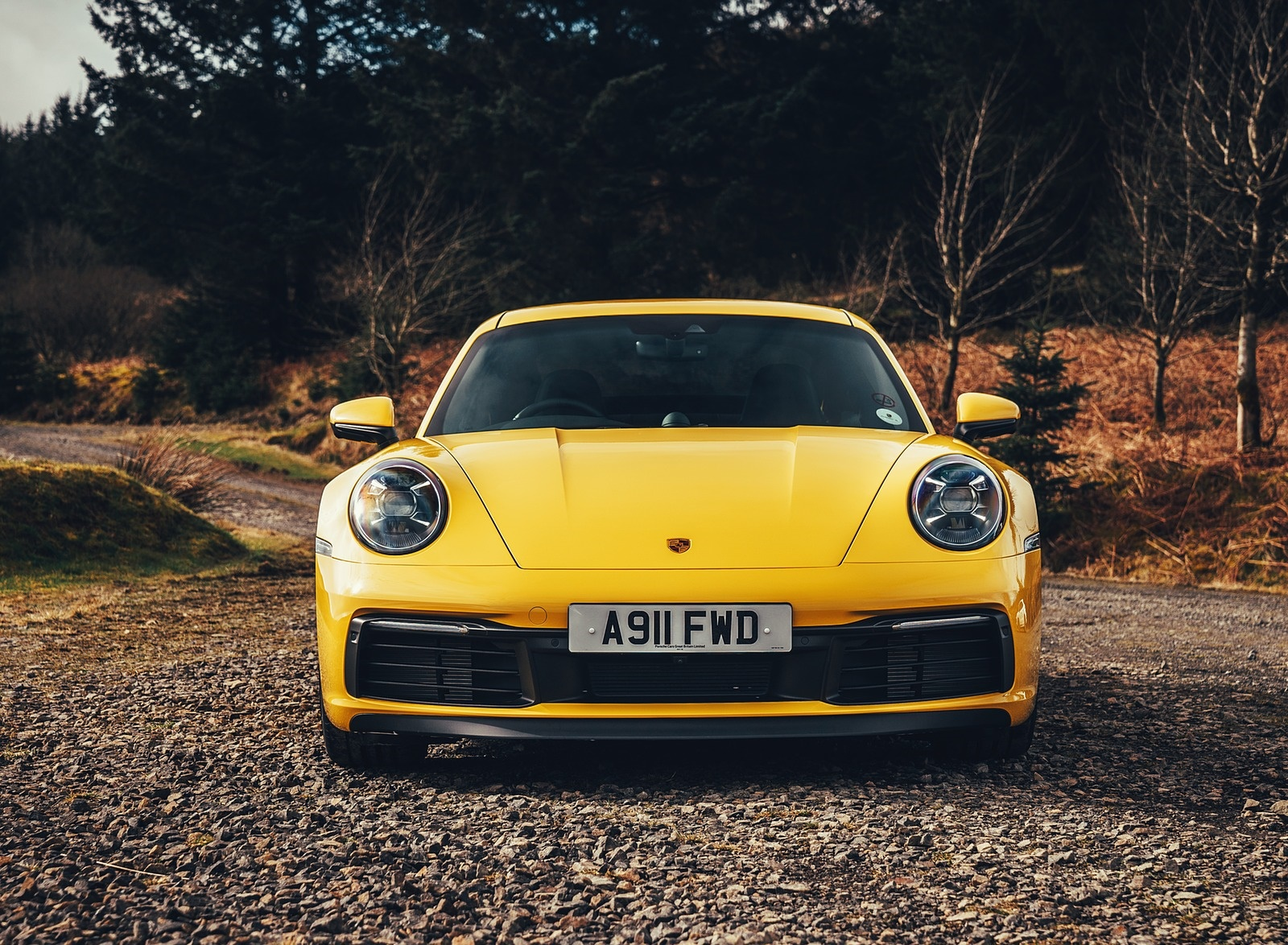 2019 Porsche 911 (992) Carrera 4S (UK-Spec) Front Wallpaper (15)