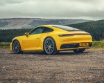 2019 Porsche 911 (992) Carrera 4S (UK-Spec) Rear Three-Quarter Wallpaper 150x120 (16)