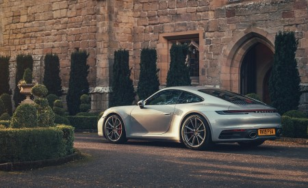 2019 Porsche 911 (992) Carrera 4S (UK-Spec) Rear Three-Quarter Wallpaper 450x275 (11)