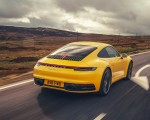 2019 Porsche 911 (992) Carrera 4S (UK-Spec) Rear Three-Quarter Wallpaper 150x120 (4)
