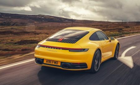 2019 Porsche 911 (992) Carrera 4S (UK-Spec) Rear Three-Quarter Wallpaper 450x275 (4)