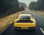 2019 Porsche 911 (992) Carrera 4S (UK-Spec) Rear Wallpaper 150x120 (5)