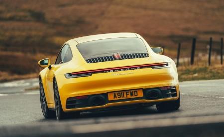 2019 Porsche 911 (992) Carrera 4S (UK-Spec) Rear Wallpaper 450x275 (17)