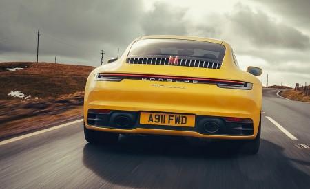 2019 Porsche 911 (992) Carrera 4S (UK-Spec) Rear Wallpaper 450x275 (10)