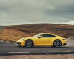 2019 Porsche 911 (992) Carrera 4S (UK-Spec) Side Wallpaper 150x120 (6)