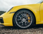 2019 Porsche 911 (992) Carrera 4S (UK-Spec) Wheel Wallpaper 150x120 (18)