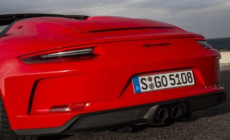 2019 Porsche 911 Speedster (Color: Guards Red) Exhaust Wallpapers 450x275 (30)