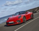 2019 Porsche 911 Speedster (Color: Guards Red) Front Three-Quarter Wallpapers 150x120 (2)