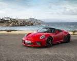2019 Porsche 911 Speedster (Color: Guards Red) Front Three-Quarter Wallpapers 150x120 (9)