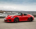 2019 Porsche 911 Speedster (Color: Guards Red) Front Three-Quarter Wallpapers 150x120 (11)