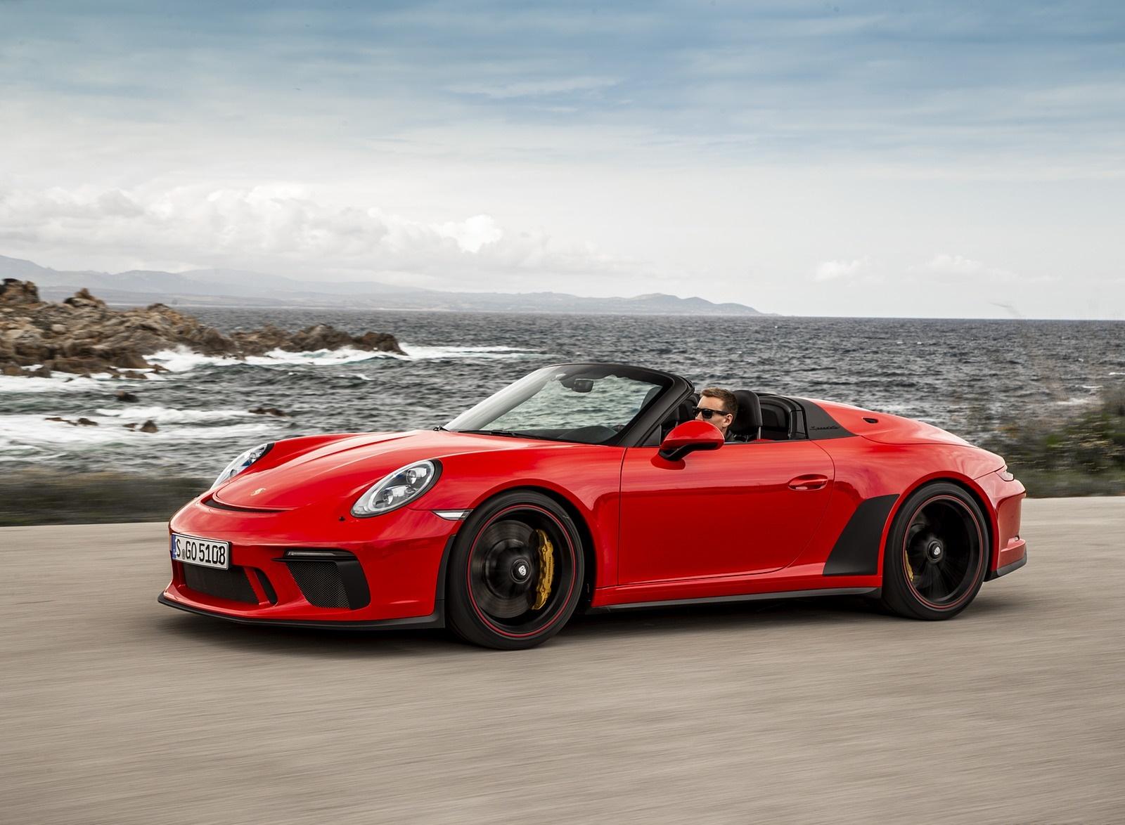 2019 Porsche 911 Speedster (Color: Guards Red) Front Three-Quarter Wallpapers (11)
