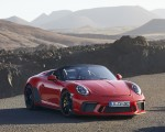 2019 Porsche 911 Speedster (Color: Guards Red) Front Wallpapers 150x120 (14)