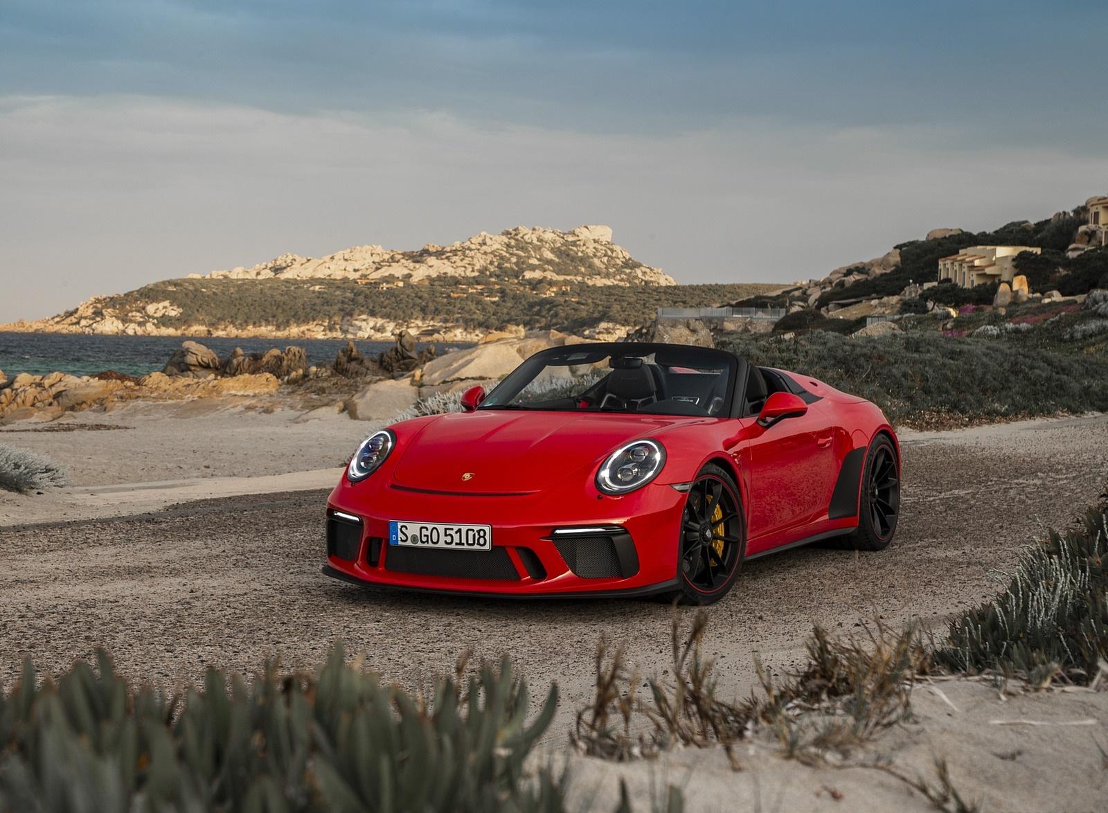 2019 Porsche 911 Speedster (Color: Guards Red) Front Wallpapers (13)