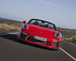 2019 Porsche 911 Speedster (Color: Guards Red) Front Wallpapers 150x120 (4)