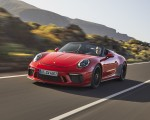 2019 Porsche 911 Speedster (Color: Guards Red) Front Wallpapers 150x120 (5)
