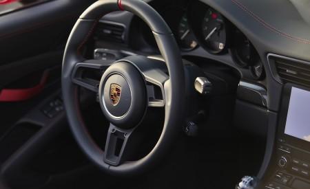 2019 Porsche 911 Speedster (Color: Guards Red) Interior Steering Wheel Wallpapers 450x275 (40)