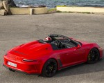 2019 Porsche 911 Speedster (Color: Guards Red) Rear Three-Quarter Wallpapers 150x120 (21)