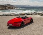 2019 Porsche 911 Speedster (Color: Guards Red) Rear Three-Quarter Wallpapers 150x120 (24)