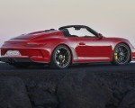 2019 Porsche 911 Speedster (Color: Guards Red) Side Wallpapers 150x120 (26)