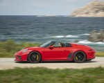 2019 Porsche 911 Speedster (Color: Guards Red) Side Wallpapers 150x120 (18)