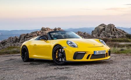 2019 Porsche 911 Speedster Front Three-Quarter Wallpapers 450x275 (56)
