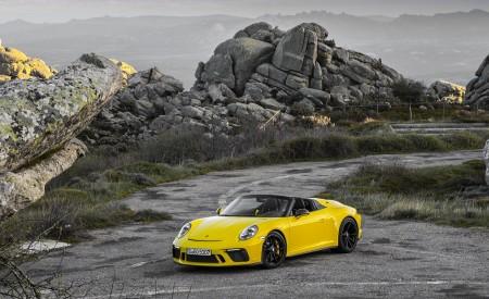 2019 Porsche 911 Speedster Front Three-Quarter Wallpapers 450x275 (57)