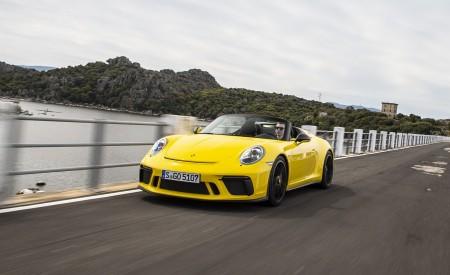 2019 Porsche 911 Speedster Front Three-Quarter Wallpapers 450x275 (43)