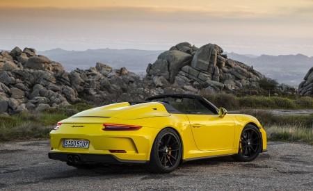 2019 Porsche 911 Speedster Rear Three-Quarter Wallpapers 450x275 (53)
