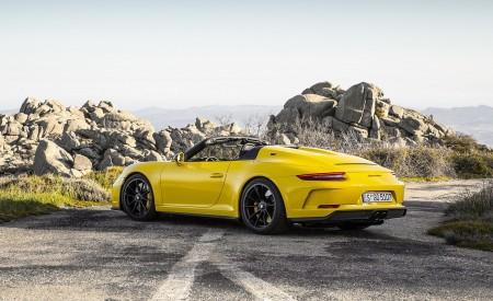 2019 Porsche 911 Speedster Rear Three-Quarter Wallpapers 450x275 (59)