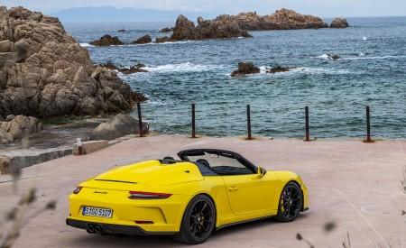 2019 Porsche 911 Speedster Rear Three-Quarter Wallpapers 450x275 (60)