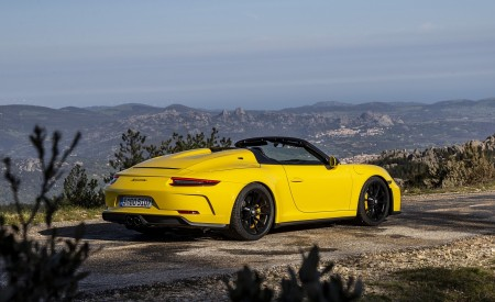 2019 Porsche 911 Speedster Rear Three-Quarter Wallpapers 450x275 (54)