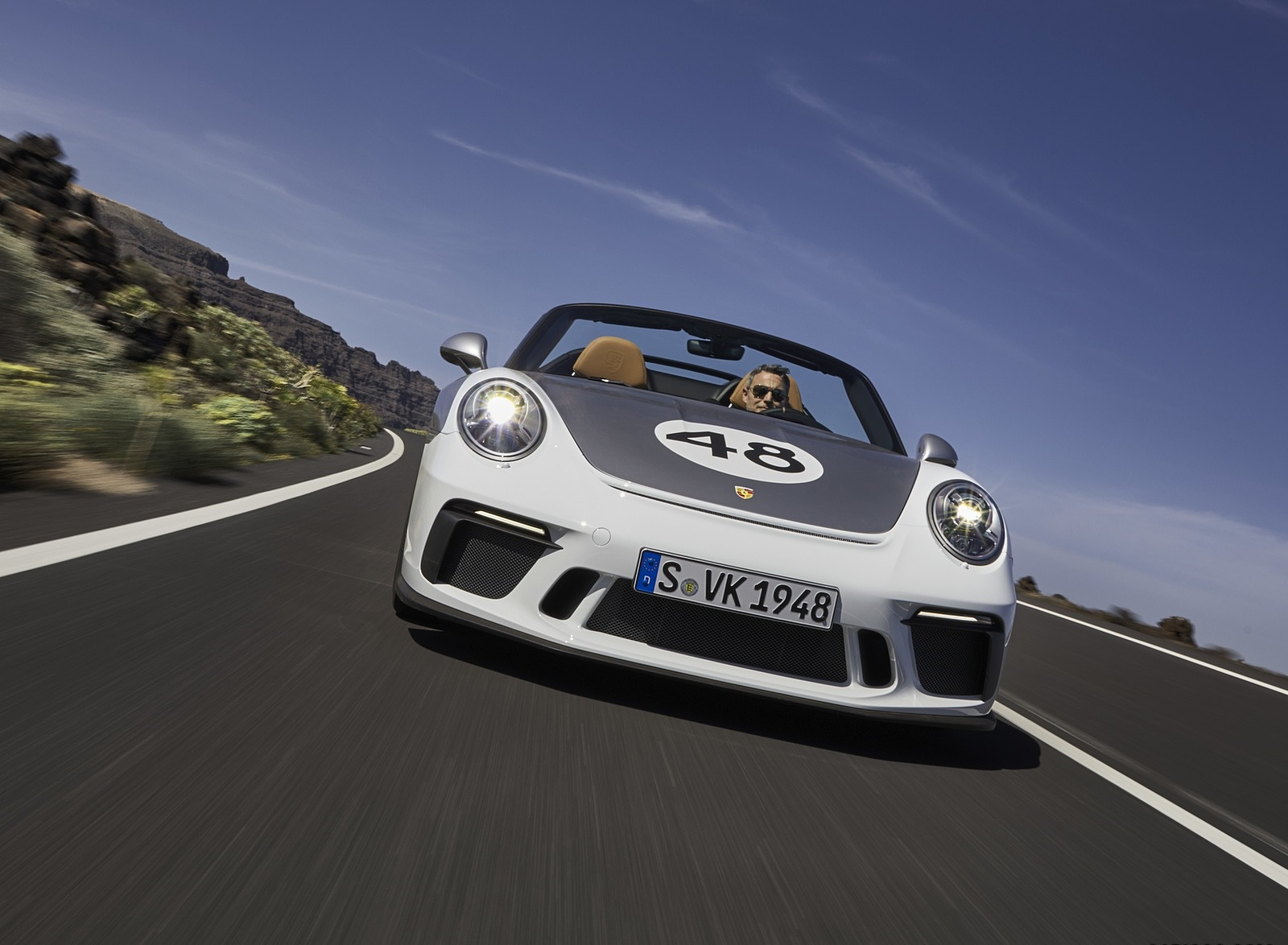 2019 Porsche 911 Speedster with Heritage Design Package Front Wallpapers (6)