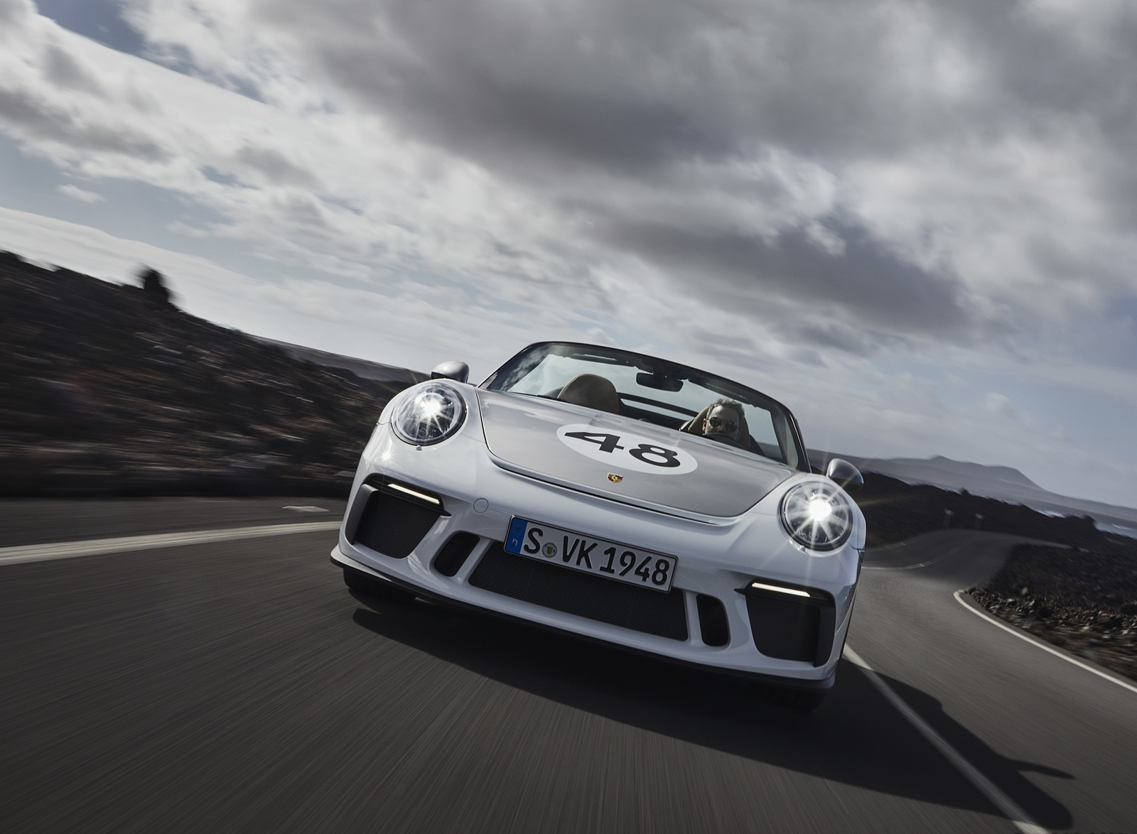 2019 Porsche 911 Speedster with Heritage Design Package Front Wallpapers (1)
