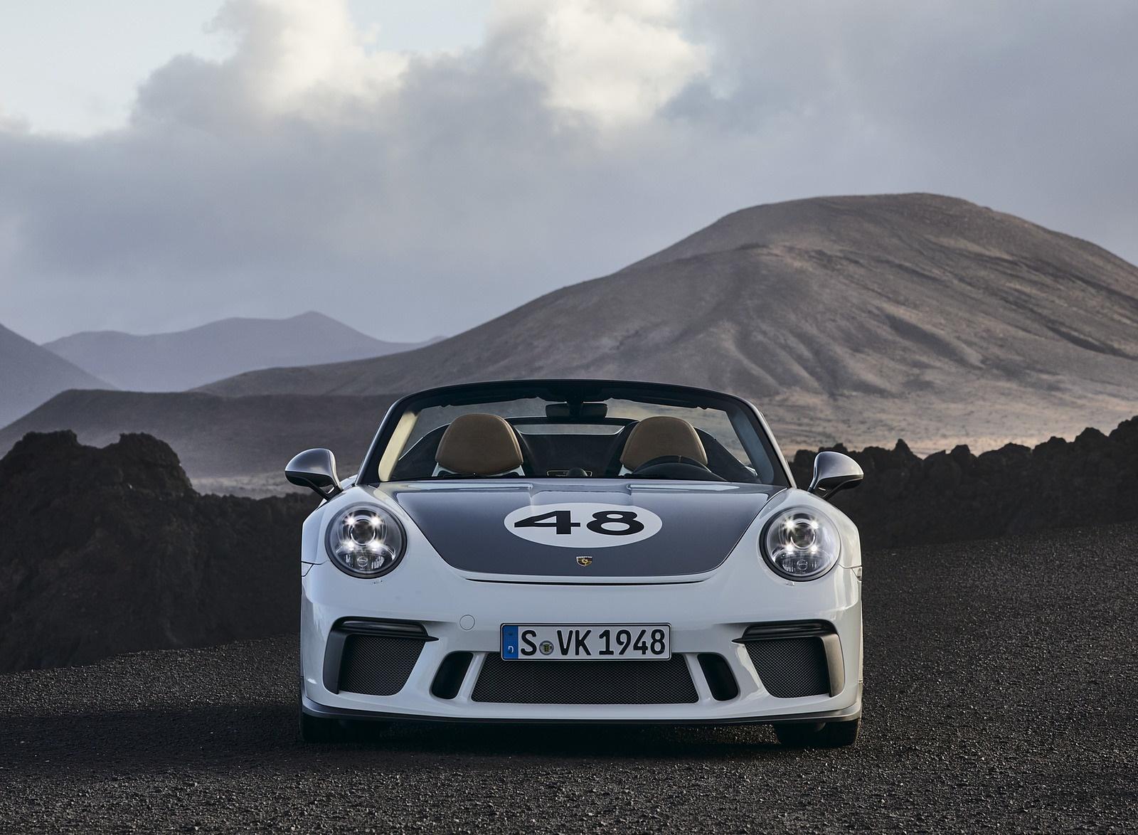2019 Porsche 911 Speedster with Heritage Design Package Front Wallpapers (15)